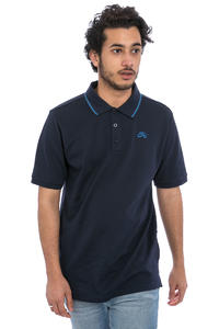 Nike SB Dri-FIT Piqué Tipped Polo-Shirt (obsidian industrial blue)