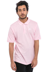 Nike SB Dri-FIT Piqué Tipped Polo-Shirt (prism pink white)