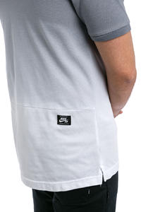 Nike SB Dry Dip Dye Polo-Shirt (cool grey white)
