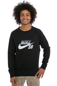 Nike SB Icon Fade Sweatshirt (black white)