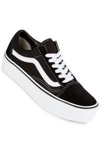 Vans Old Skool Platform Scarpa (black white)