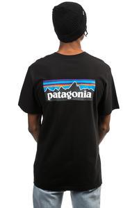 Patagonia P-6 Logo T-Shirt (black)
