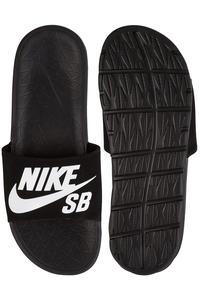 Nike SB Benassi Solarsoft Slide Sandale (black white)