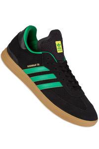 adidas Skateboarding Samba ADV Zapatilla (core black green gum)