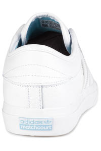 adidas Skateboarding Matchcourt Shoes (white gold blue)