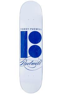 "Plan B Pudwill Signature 7.75"" Deck (silver metallic)"