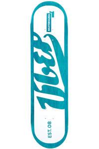 "Über Skateboards Die Cut 8"" Deck (turquoise)"