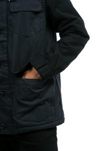 Globe Goodstock Blocked Parka Jacket (granite)