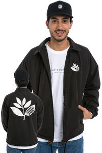 Magenta Plant Jacket (black)