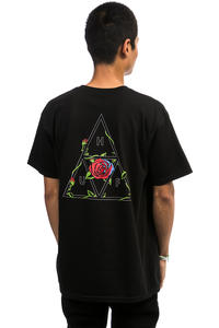 HUF Roses Triple Triangle T-Shirt (black)