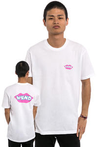 WKND Lips Are Sealed T-Shirt (white)