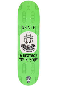 "Jart Skateboards Sk8 Or Die 8.125"" Planche Skate (green)"
