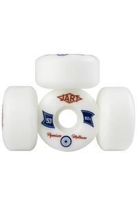 Jart Skateboards Elegance 53mm Roue (white) 4 Pack