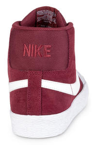 Nike SB Zoom Blazer Mid XT Schoen (dark team red white)
