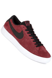 Nike SB Blazer Vapor Shoes (dark team red black)