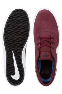 Nike SB Solarsoft Portmore II Chaussure (dark team red white)