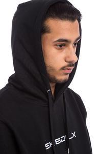 SK8DLX Lazer Hoodie (black white)
