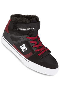 DC Spartan High WNT EV Shoes kids (black dark red)