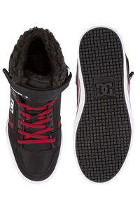 DC Spartan High WNT EV Shoes  (black dark red)