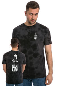 DC x Sk8Mafia Texture T-Shirt (black)