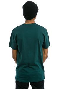 Cleptomanicx Gull T-Shirt (dark sea green)
