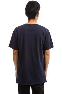 Cleptomanicx Möwe T-Shirt (dark navy merlot red)