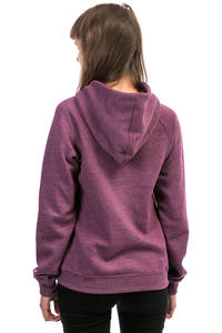 Cleptomanicx Möwe 3 Hoodie women (heather dark berry)