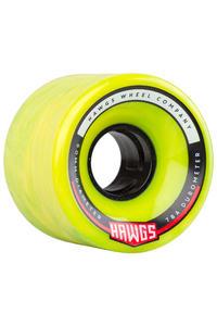 Hawgs Chubby 60mm 78A Rollen (green yellow) 4er Pack
