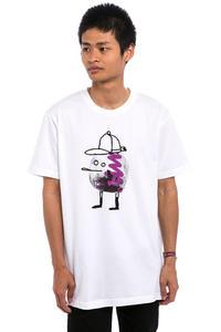 Cleptomanicx Disco Zitrone T-Shirt (white)