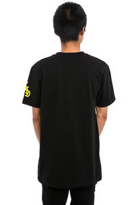 Cleptomanicx DJ Mad Zitrone 2 T-Shirt (black)