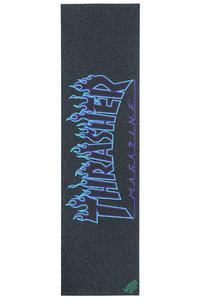 MOB x Thrasher Flame Grip Skate (blue)