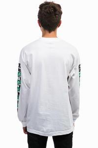 Lakai  x Girl Pasted Camiseta de manga larga  (white)