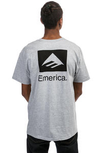 Emerica Brand Combo T-Shirt (grey heather)