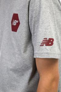 New Balance Numeric Hex Camiseta (athletic grey)