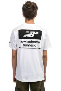 New Balance Numeric Stacked Camiseta (white)