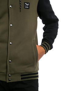 Iriedaily Daily College Giacca (black olive)