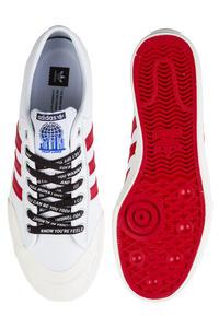 adidas Skateboarding x A$AP Ferg Matchcourt Schuh (white scarlet)