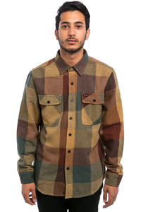 Brixton Bowery Flanellhemd (rust copper)