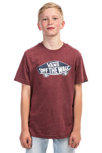 Vans OTW T-Shirt kids (burgundy heather)