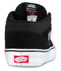 Vans Half Cab Pro Shoes  (black black white)