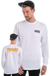 Vans x Thrasher Checker Longsleeve (white)