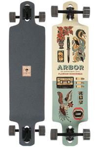 "Arbor Drop Cruiser Artist Collection 38"" (96,5cm) Longboard-completo"