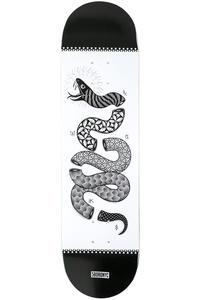 """5BORO Snake Art Series 8.25"""" Deck (black white)"""