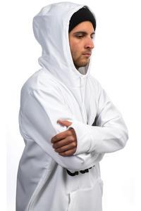 adidas Team Tech Felpa Hoodie da snowboard (white black)