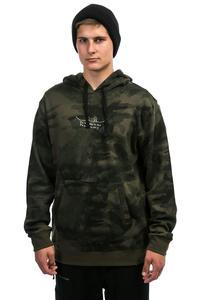 Volcom JLA Fleece Felpa Hoodie da snowboard (camouflage)