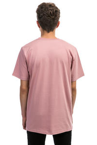 Carhartt WIP College Script T-Shirt (soft rose white)
