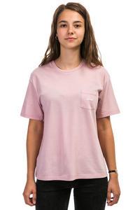 Carhartt WIP W' Temple Stray Pocket T-Shirt women (soft rose white)