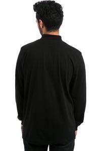 Antix Mock Neck Longsleeve  (black)