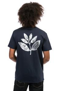 Magenta Sun Plant Camiseta (dark navy)