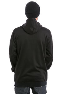 DC Snowstar Felpa Hoodie con zip da snowboard (black)